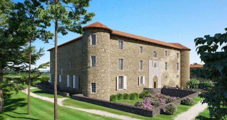 Achat / Vente appartement neuf Chassagny commune de Beauvallon (69700) - Réf. 5575