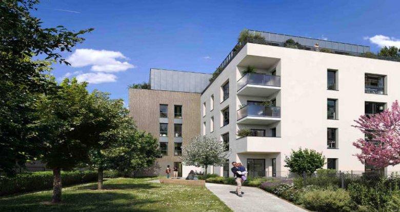 Achat / Vente appartement neuf Chassieu au cœur du village (69680) - Réf. 5511