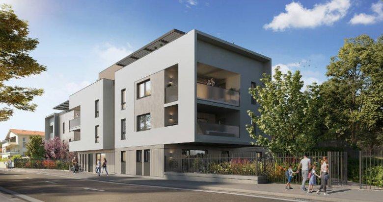 Achat / Vente appartement neuf Chassieu centre-ville proche bus 68 (69680) - Réf. 6014