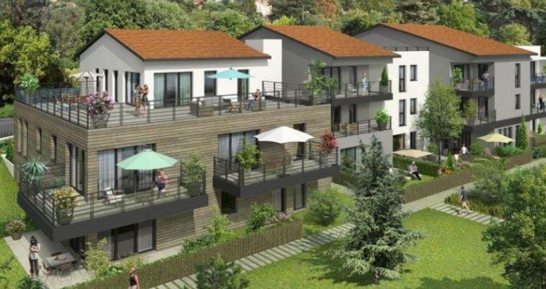 Achat / Vente appartement neuf Collonges-au-Mont-d'Or quartier résidentiel (69660) - Réf. 1357