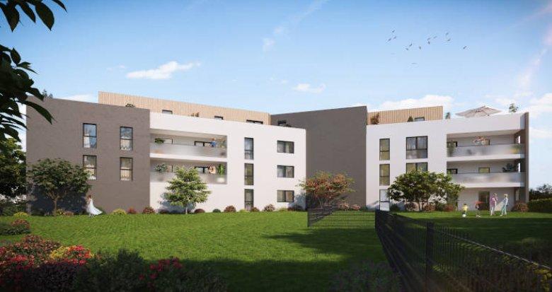Achat / Vente appartement neuf Craponne proche centre à 3min à pied du bus (69290) - Réf. 5684
