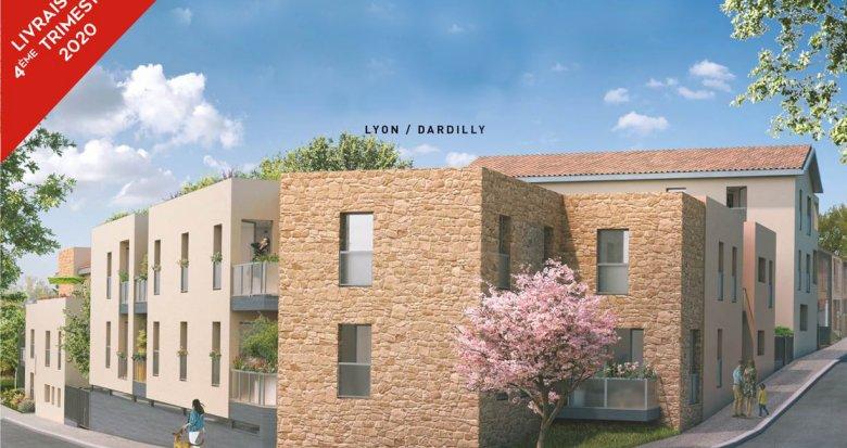 Achat / Vente appartement neuf Dardilly quartier calme et résidentiel (69570) - Réf. 2686