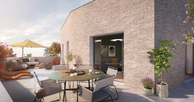 Achat / Vente appartement neuf Décines-Charpieu à 5 min à pied du T3 et T7 (69150) - Réf. 5624