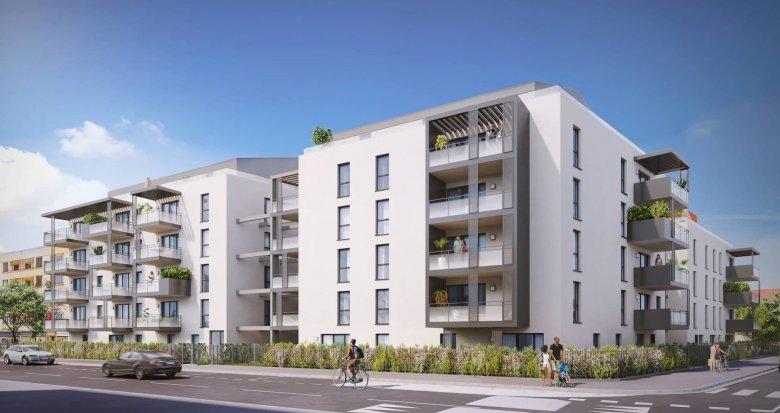Achat / Vente appartement neuf Décines-Charpieu centre proche mairie (69150) - Réf. 6224
