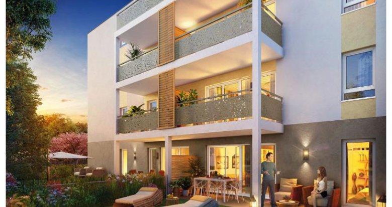 Achat / Vente appartement neuf Décines-Charpieu proche Parc Maurice Sauthier (69150) - Réf. 966