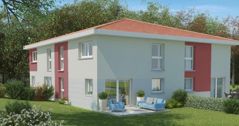 Achat / Vente appartement neuf Echalas, vue panoramique (69700) - Réf. 393