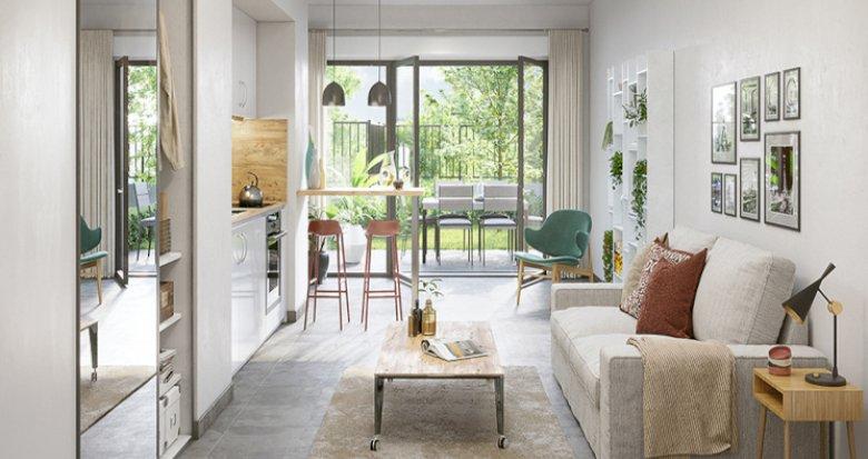 Achat / Vente appartement neuf Feyzin à 5 min du Parc de l'Europe (69320) - Réf. 5512