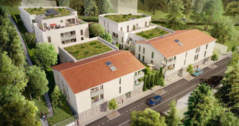 Achat / Vente appartement neuf Fontaines-Saint-Martin proche Lyon (69270) - Réf. 3191