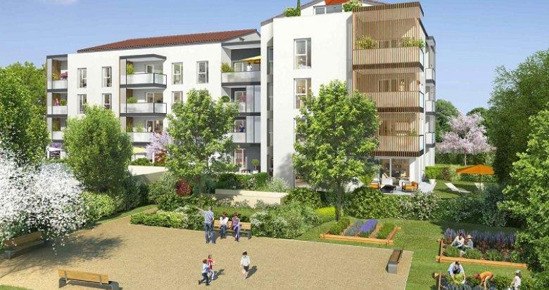 Achat / Vente appartement neuf Francheville Bel-Air (69340) - Réf. 575