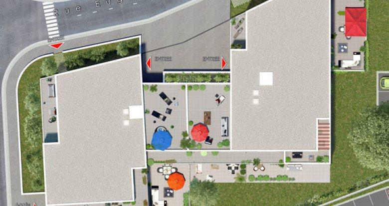 Achat / Vente appartement neuf Givors à 3 min du centre-ville (69700) - Réf. 1620