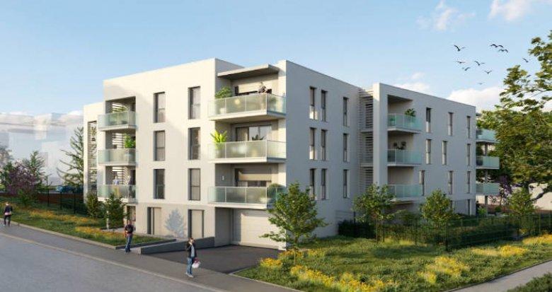 Achat / Vente appartement neuf Gleizé à 15 minutes à pied de la gare (69400) - Réf. 4741