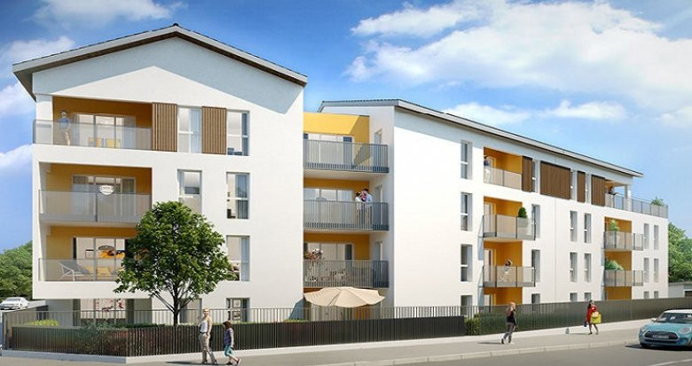 Achat / Vente appartement neuf Grigny proche transports en commun (69520) - Réf. 303