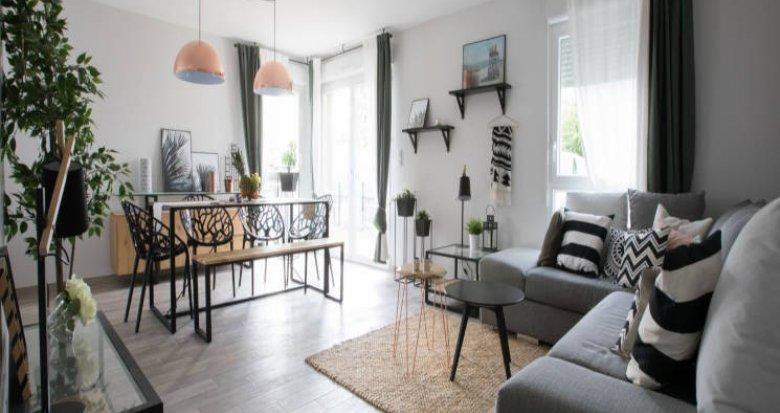 Achat / Vente appartement neuf Jons portes de Lyon (69330) - Réf. 2831