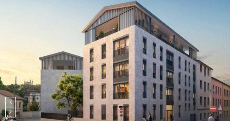 Achat / Vente appartement neuf Lyon 01 proche quai Saint-Vincent (69001) - Réf. 4513