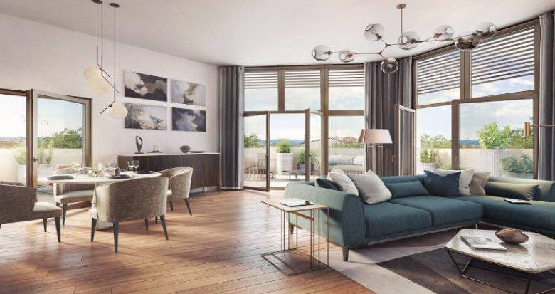 Achat / Vente appartement neuf Lyon 03 à 15 min à pied de la Part Dieu (69003) - Réf. 5571