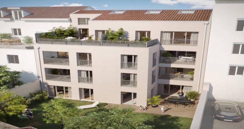 Achat / Vente appartement neuf Lyon 03 à 350m du T4 Dauphiné-Lacassagne (69003) - Réf. 5682