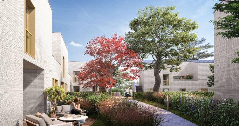 Achat / Vente appartement neuf Lyon 03 au cœur du quartier prisé de Montchat (69003) - Réf. 5504