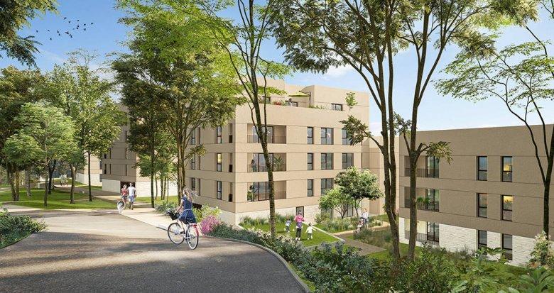 Achat / Vente appartement neuf Lyon 05 secteur Point Du Jour - Champvert (69005) - Réf. 6255