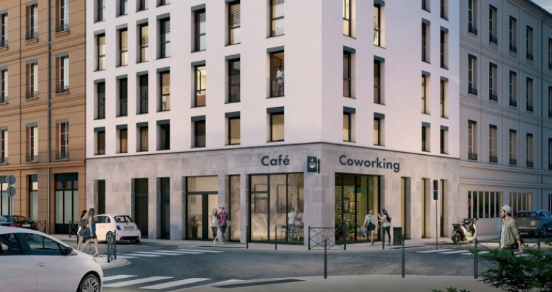 Achat / Vente appartement neuf Lyon 06 proche métro (69006) - Réf. 5349