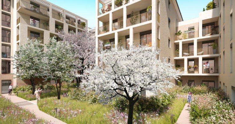 Achat / Vente appartement neuf Lyon 08 à 600 mètres du tramway T2 (69008) - Réf. 5386