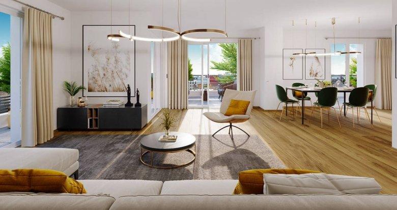 Achat / Vente appartement neuf Lyon 08 à deux pas du métro D Mermoz Pinel (69008) - Réf. 6256