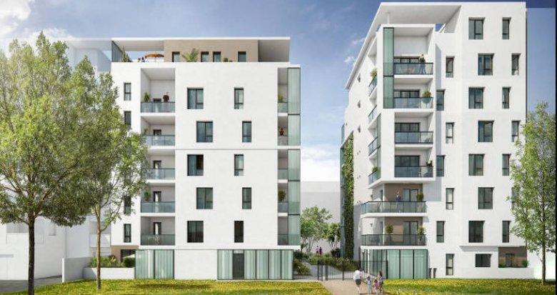 Achat / Vente appartement neuf Lyon 08 au cœur du quartier Monplaisir (69008) - Réf. 4294