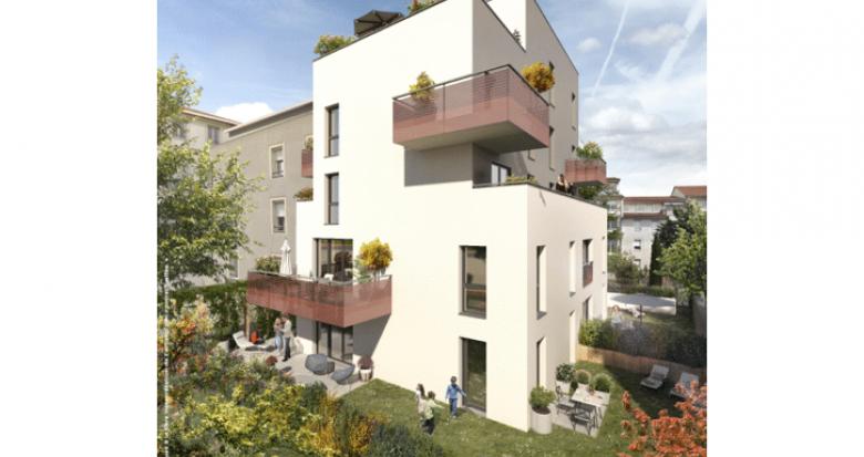 Achat / Vente appartement neuf Lyon 08 proche métro Laënnec (69008) - Réf. 5405