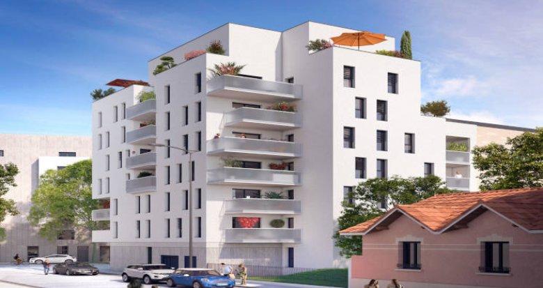 Achat / Vente appartement neuf Lyon 08 proche Université Jean Moulin (69008) - Réf. 2785