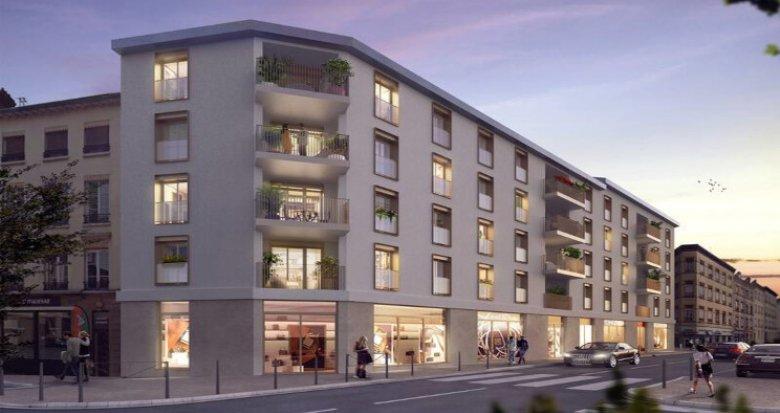 Achat / Vente appartement neuf Lyon 09 à 2min du métro D Valmy (69009) - Réf. 5485