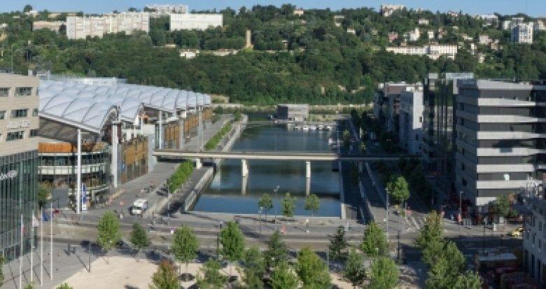 Achat / Vente appartement neuf Lyon 2 Confluence à 100 mètres du tramway (69002) - Réf. 2023