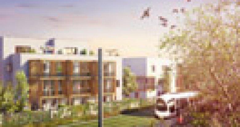 Achat / Vente appartement neuf Lyon 3 en bordure du Parc Bazin (69003) - Réf. 2846