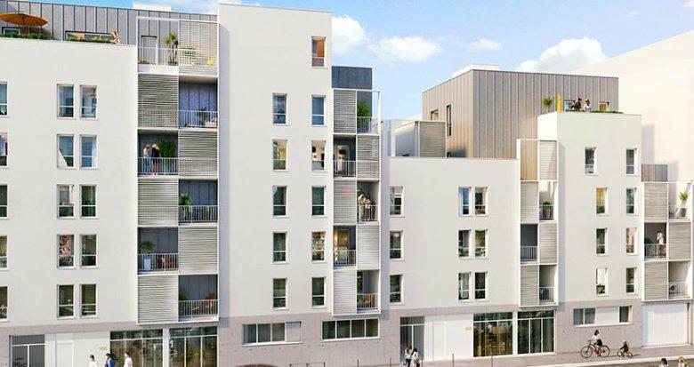 Achat / Vente appartement neuf Lyon 3 proche avenue Felix Faure (69003) - Réf. 1840