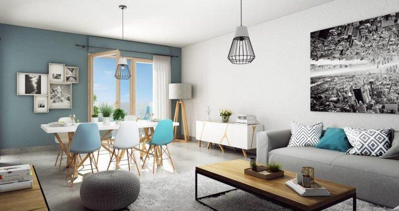 Achat / Vente appartement neuf Lyon 3 proche centre-commercial la Part Dieu (69003) - Réf. 2029