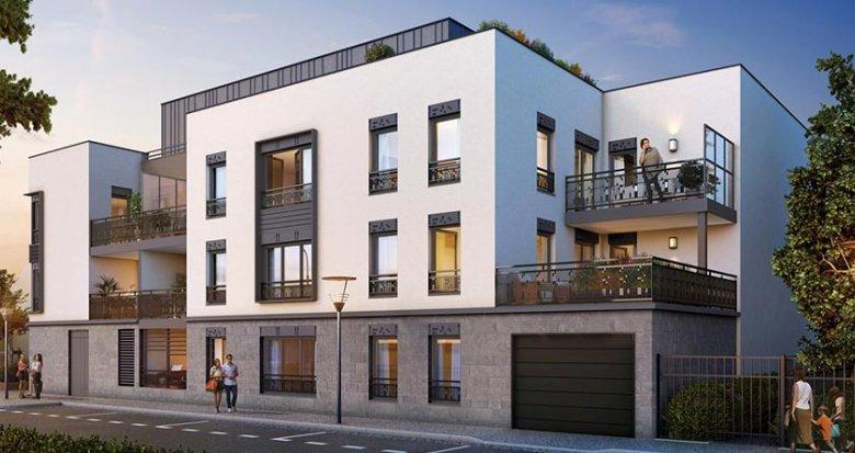 Achat / Vente appartement neuf Lyon 3 proche du Parc Georges Bazin (69003) - Réf. 435