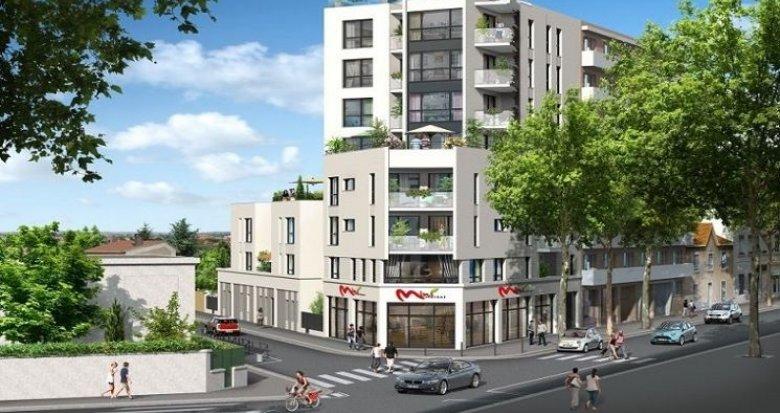 Achat / Vente appartement neuf Lyon 3 quartier résidentiel Montchat (69003) - Réf. 1312