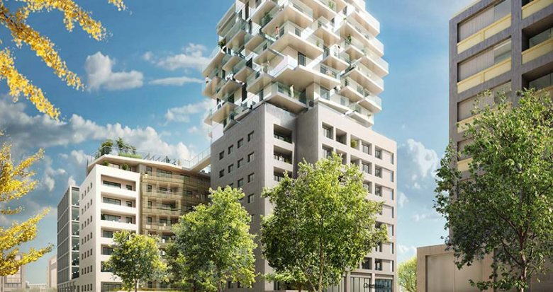 Achat / Vente appartement neuf Lyon 3e, quartier de la Part-Dieu (69003) - Réf. 1859