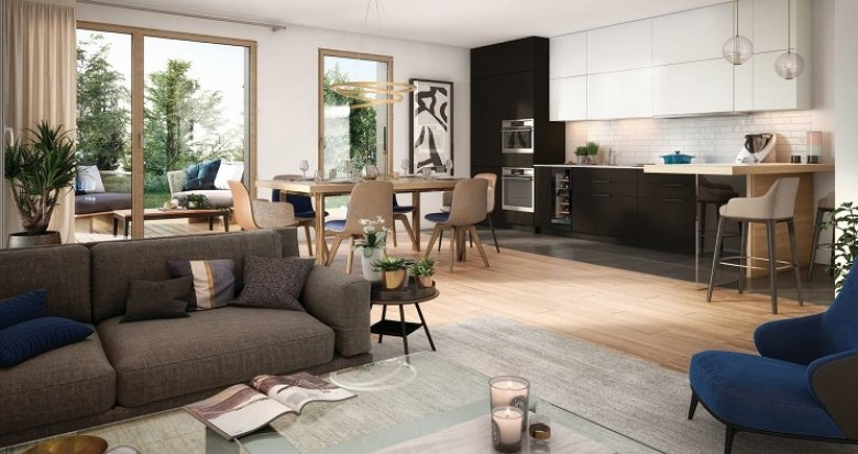Achat / Vente appartement neuf Lyon 4 Croix Rousse porte Saint Sébastien (69004) - Réf. 4007