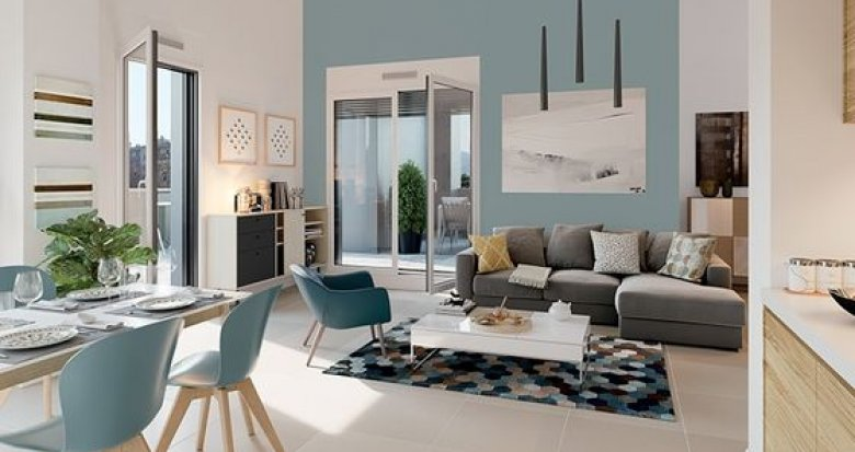 Achat / Vente appartement neuf Lyon 5 quartier du Point-du-Jour (69005) - Réf. 2230