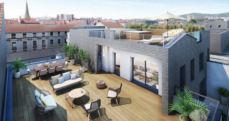 Achat / Vente appartement neuf Lyon 6 proche quartier des Brotteaux (69006) - Réf. 3541