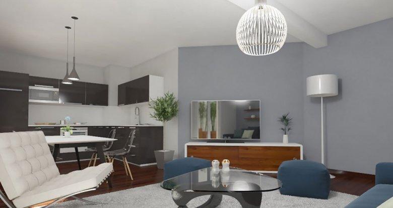 Achat / Vente appartement neuf Lyon 7 place Saint Louis (69007) - Réf. 291