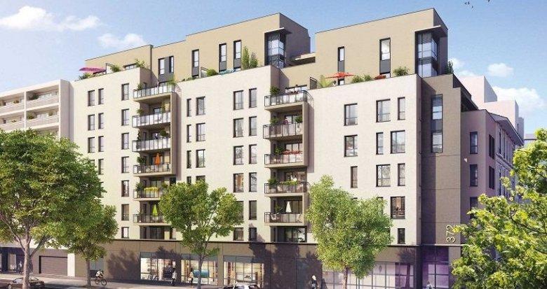 Achat / Vente appartement neuf Lyon 7 proche Jean Macé et Garibaldi (69007) - Réf. 1065