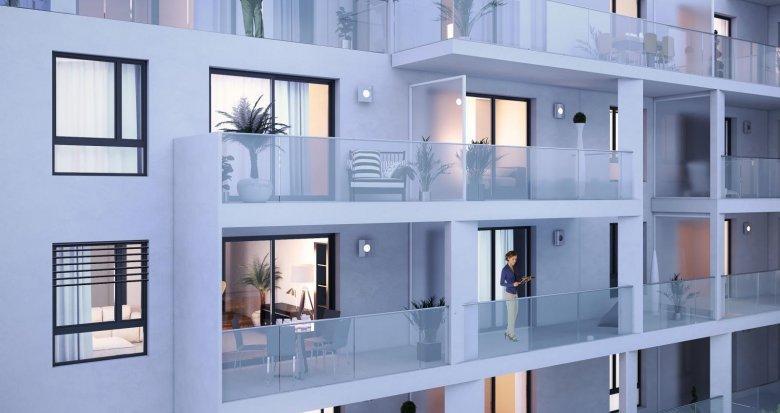 Achat / Vente appartement neuf Lyon 7 proche Parc Sergent Blandan (69007) - Réf. 1838