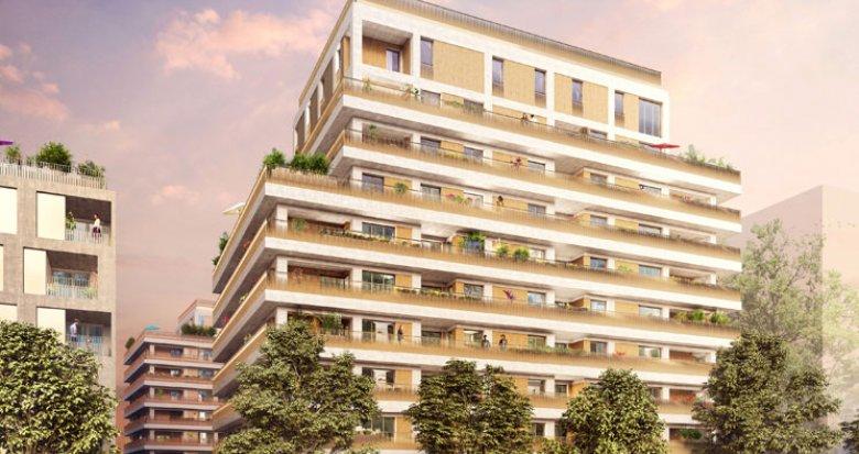 Achat / Vente appartement neuf Lyon 7 quartier des Girondins (69007) - Réf. 1239