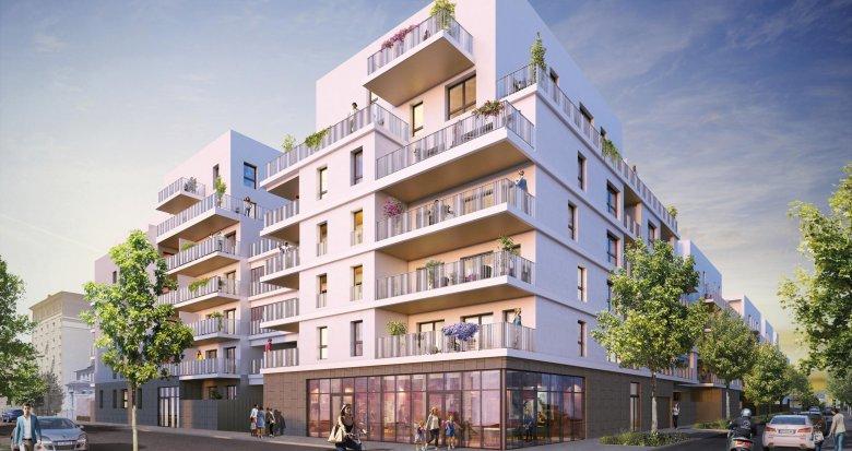 Achat / Vente appartement neuf Lyon 7 secteur Jean Jaurès proche métro (69007) - Réf. 1985