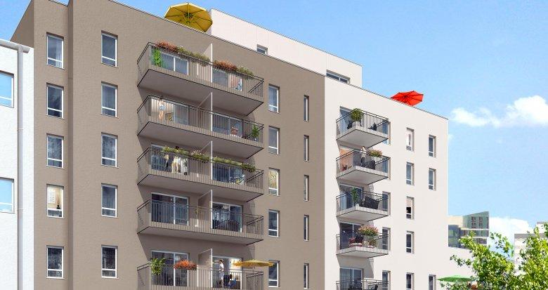 Achat / Vente appartement neuf Lyon 7 secteur Jet d'Eau proche parc Blandan (69007) - Réf. 1935