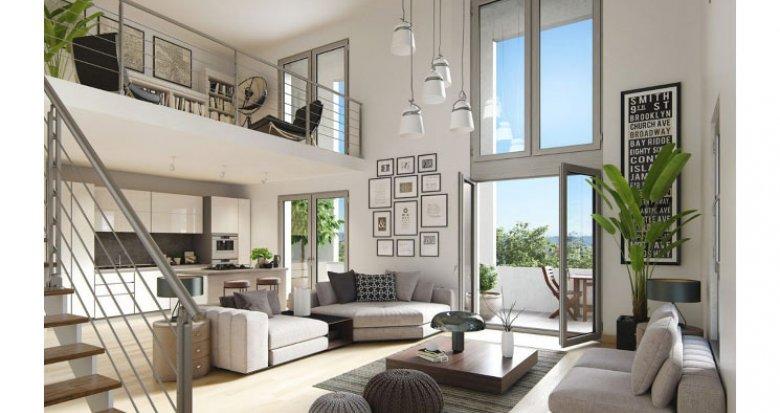 Achat / Vente appartement neuf Lyon 7e à deux pas du métro Jean Jaurès (69007) - Réf. 1710
