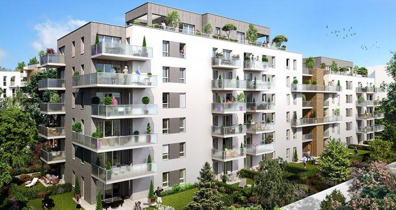 Achat / Vente appartement neuf Lyon 7ème proche quartier de la Confluence (69007) - Réf. 1884
