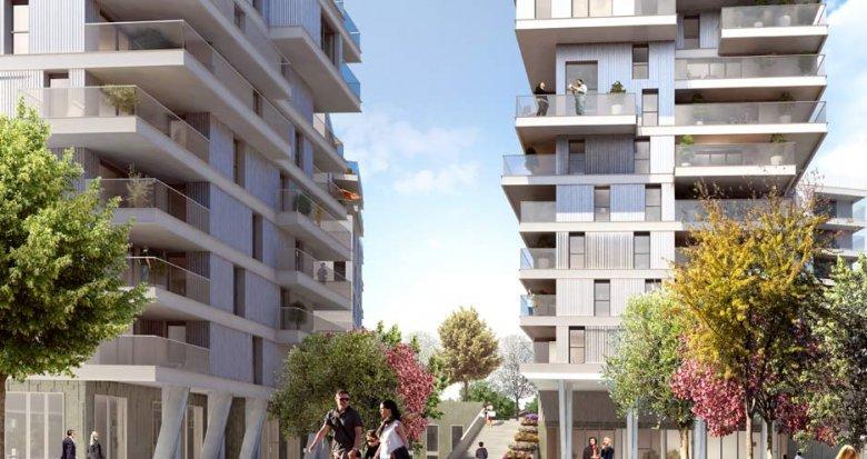 Achat / Vente appartement neuf Lyon 7ème ZAC des Girondins (69007) - Réf. 795