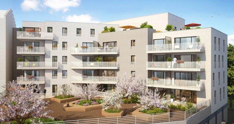 Achat / Vente appartement neuf Lyon 8 place Lebret (69008) - Réf. 1228