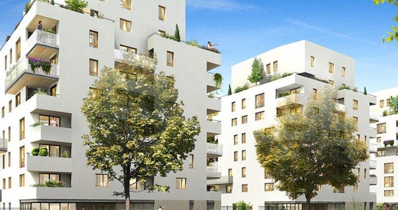 Achat / Vente appartement neuf Lyon 8 proche des transports en commun au cœur d'un parc (69008) - Réf. 1414